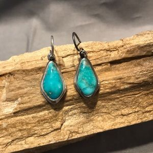 Barse Turquoise & Sterling Earrings